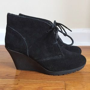 White Mountain Shoes - Wedge booties.